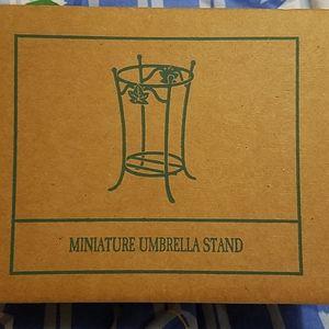 Longaberger Miniature Umbrella Stand